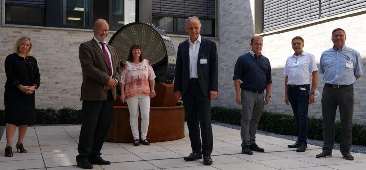 Besuch bei der Christian Pfeiffer Maschinenfabrik GmbH